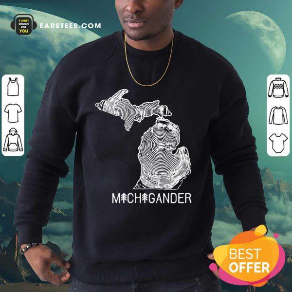 Michigander To The Core Sweatshirt