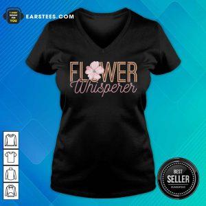 Nice Flower Whisperer V-neck