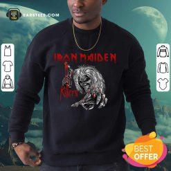 Nice Iron Maiden Killers Sweatshirt