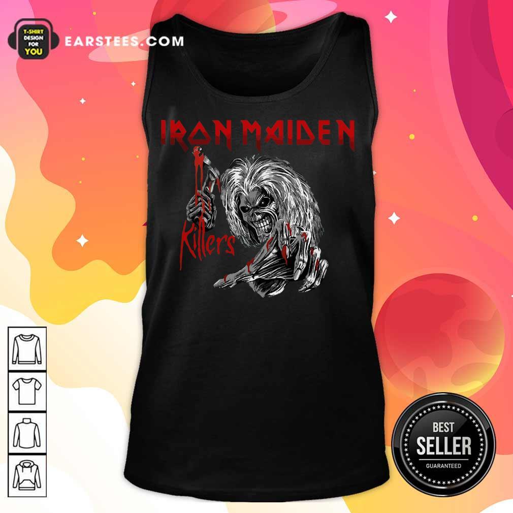 Nice Iron Maiden Killers Tank Top