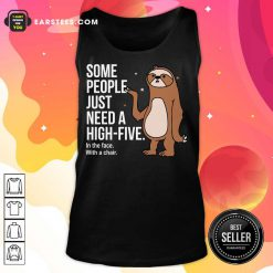 Nice Sloth Just Need A High Five Tank Top