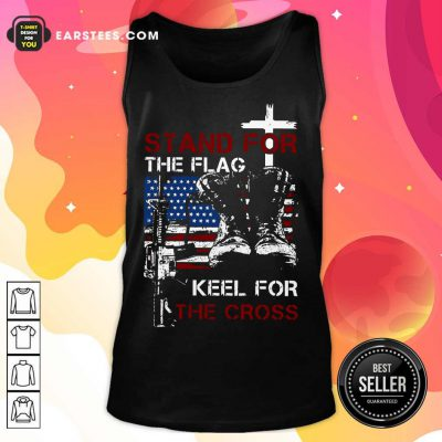 Nice Stand For The Flag Keel For The Cross Tank Top