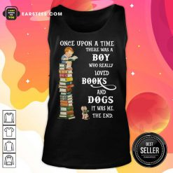 Once Upon A Time Boy Books Dogs Tank Top