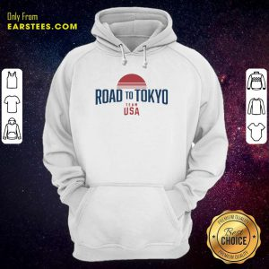 Road To Tokyo Team USA Hoodie