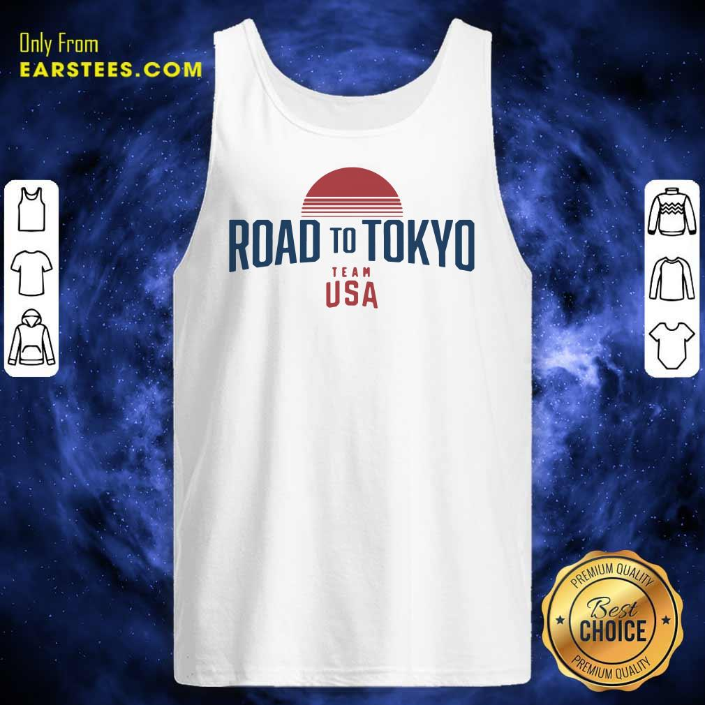 Road To Tokyo Team USA Tank Top