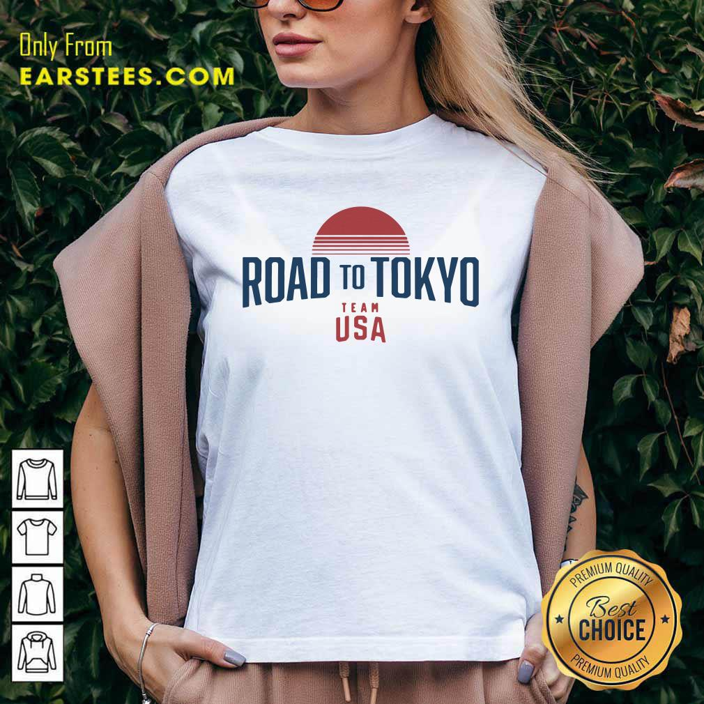 Road To Tokyo Team USA V-neck