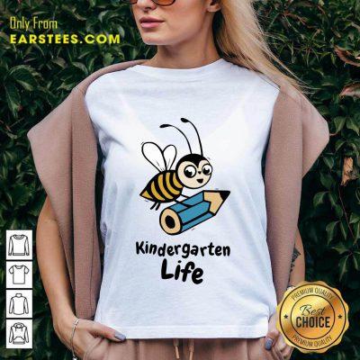 Top Bee Kindergarten Life V-Neck