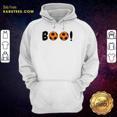 Top Boo Ball Soccer Hoodie