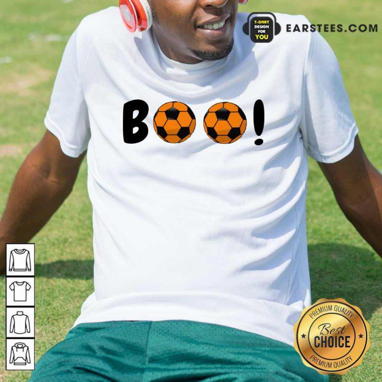 Top Boo Ball Soccer Shirt