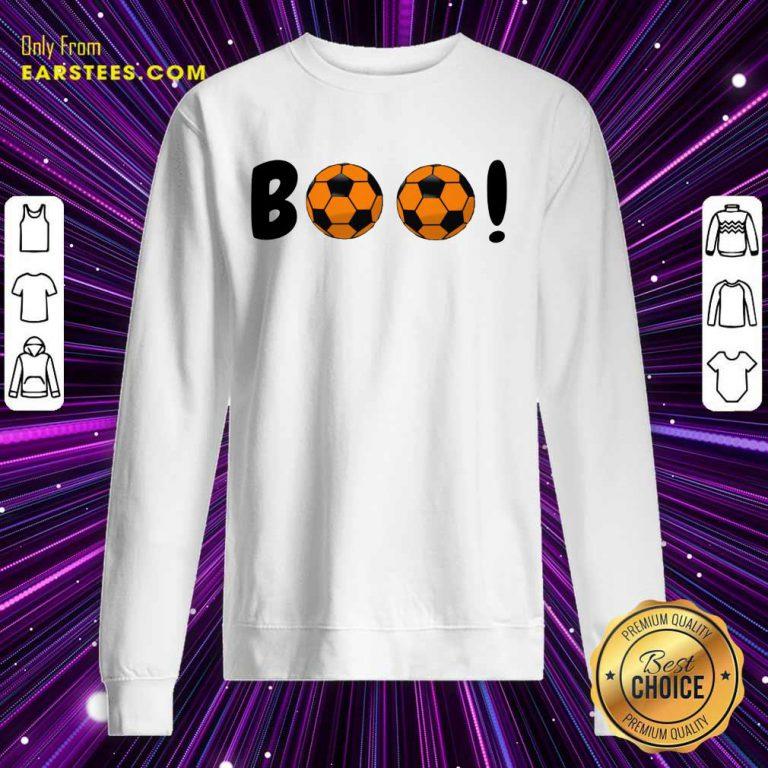 Top Boo Ball Soccer Sweatshirt