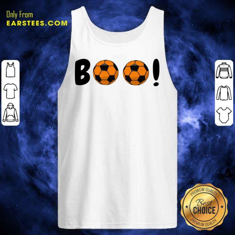 Top Boo Ball Soccer Tank Top