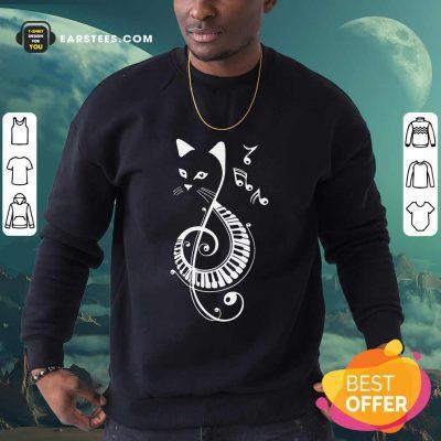 Top Cat Music Note Sweatshirt