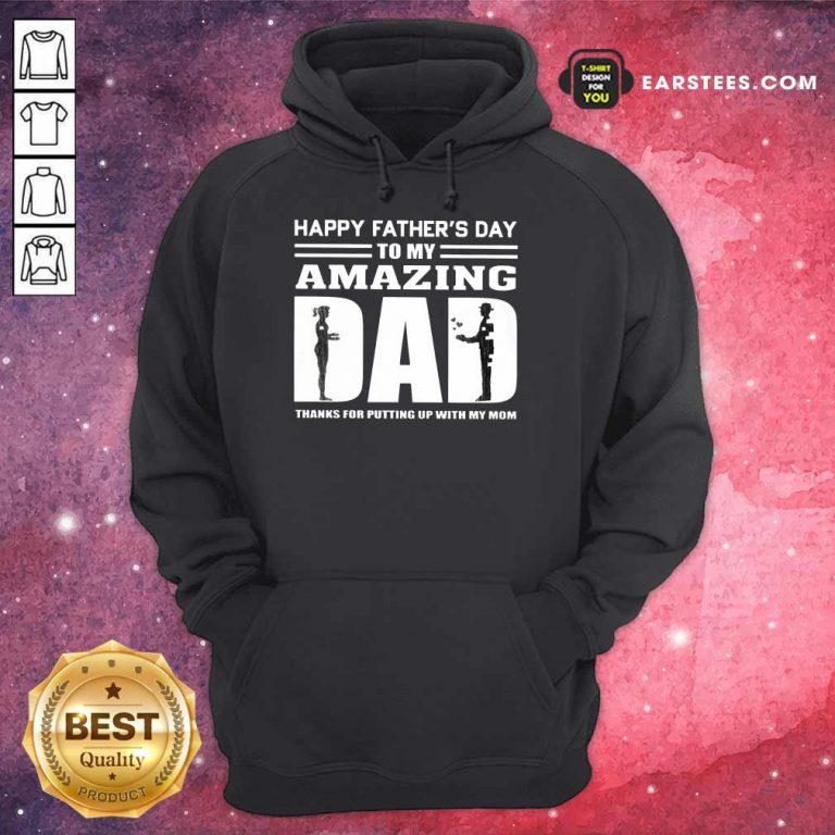 Top Happy Fathers Day Amazing Dad Hoodie