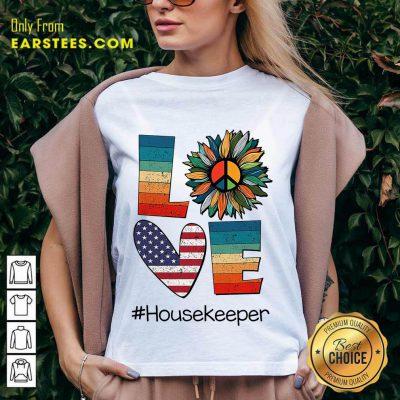 Top Love Housekeeper V-Neck