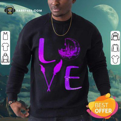 Top Love Witch Sweatshirt