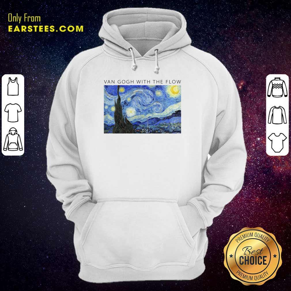 Top Van Gogh With The Flow Hoodie