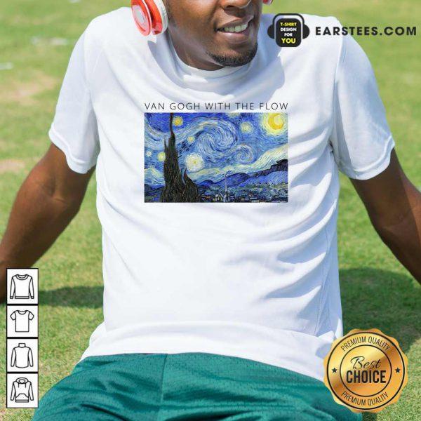 Top Van Gogh With The Flow Shirt