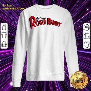Who Framed Roger Rabbit Logo Ringer Sweatshirt