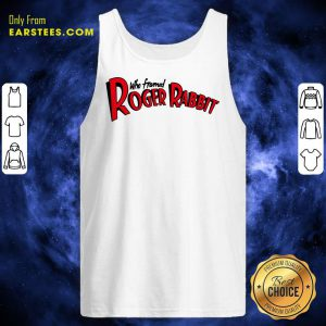 Who Framed Roger Rabbit Logo Ringer Tank Top