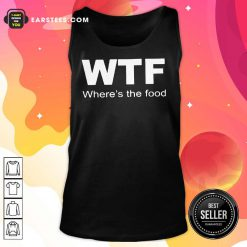 WTF Where's The Food Tank Top