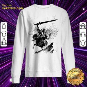 A Mighty Warrior Sweatshirt