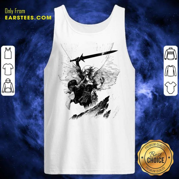 A Mighty Warrior Tank Top
