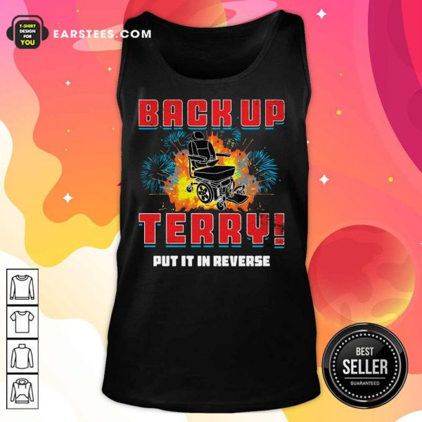 Back Up Terry Put It In Reverse 4th Of July Tank Top