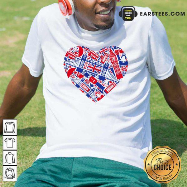 British Heart Poster Shirt