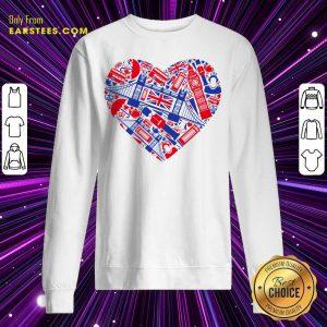 British Heart Poster Sweatshirt