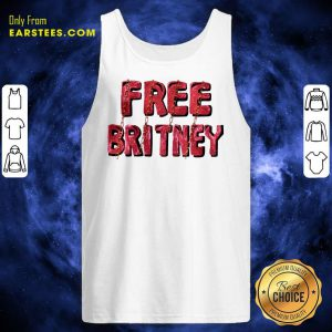 Free Britney Be Strong Tank Top