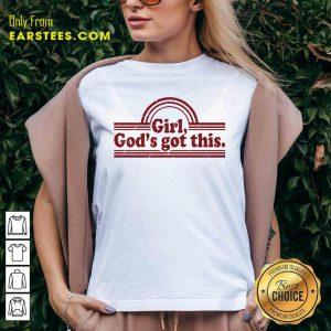 Hot Girl God's Got This V-neck