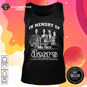 In Memory Of The Doors 1965-1973 Thank You For The Memories Signature Tank Top