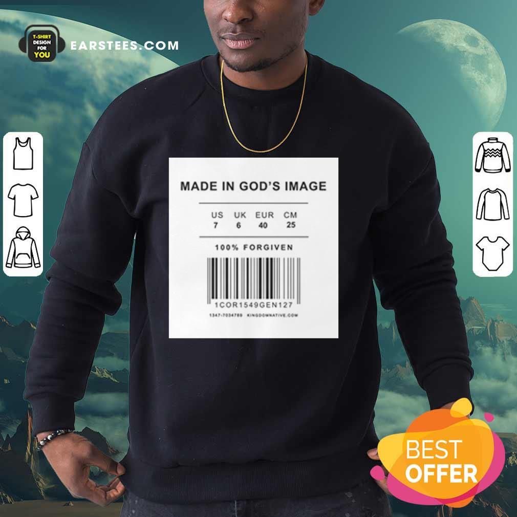 Made In God's Image Sweatshirt