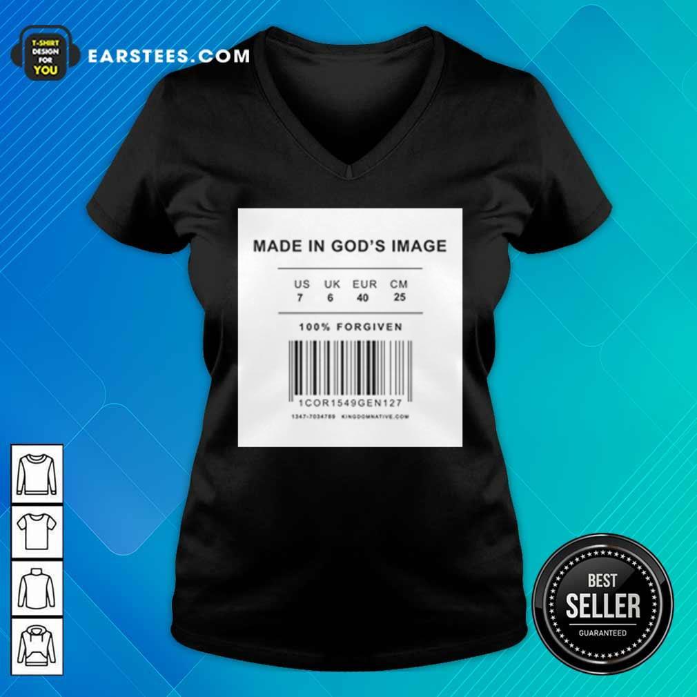 Made In God's Image V-neck