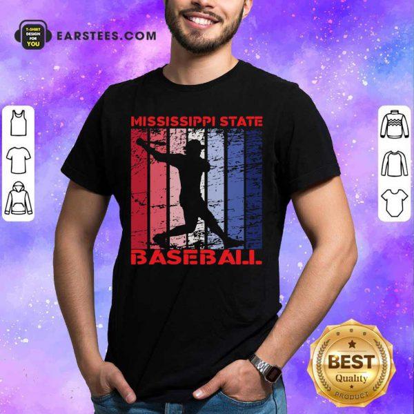 Mississippi State Baseball Vintage Shirt