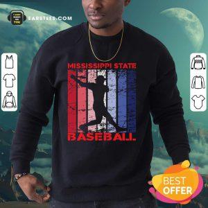 Mississippi State Baseball Vintage Sweatshirt