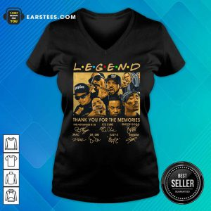 The Rapper Legend Signatures Thank You For The Memories V-neck