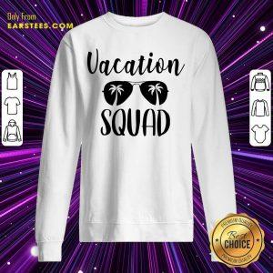 Top Vacation Squad Sweatshirt