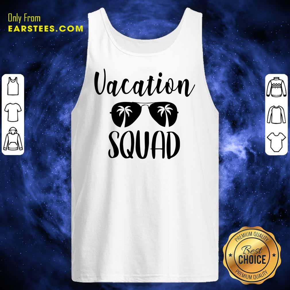 Top Vacation Squad Tank Top