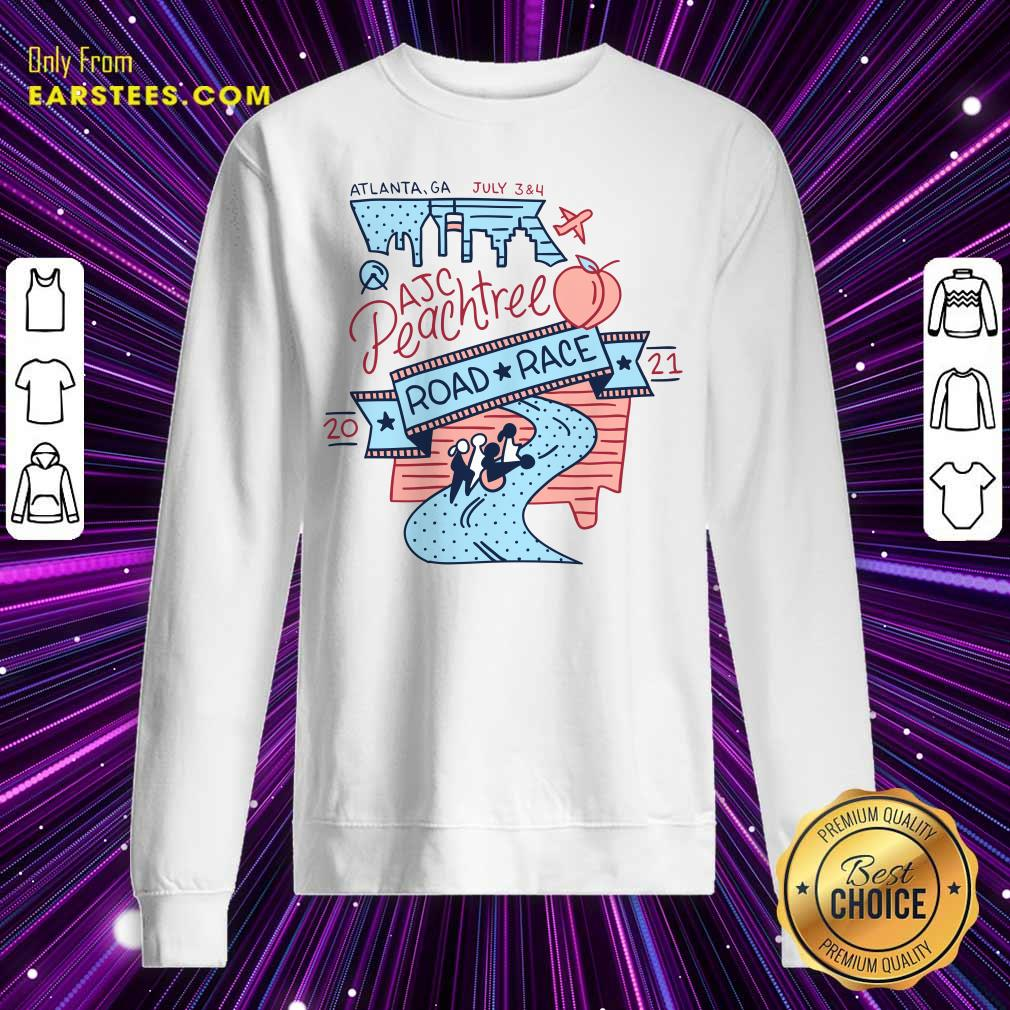 Vote Now For The 2021 AJC Peachtree Road Race Sweatshirt