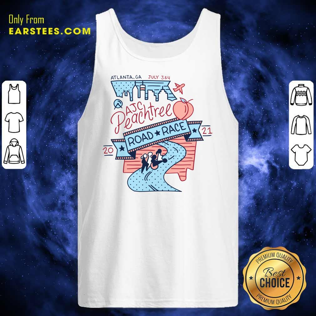 Vote Now For The 2021 AJC Peachtree Road Race Tank Top